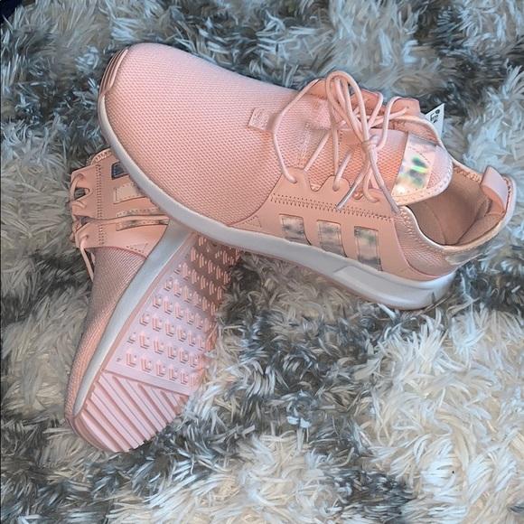 Nwt Adidas Xplr Holographic Ice Pink